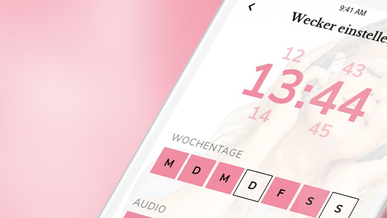 barba radio App Wecker