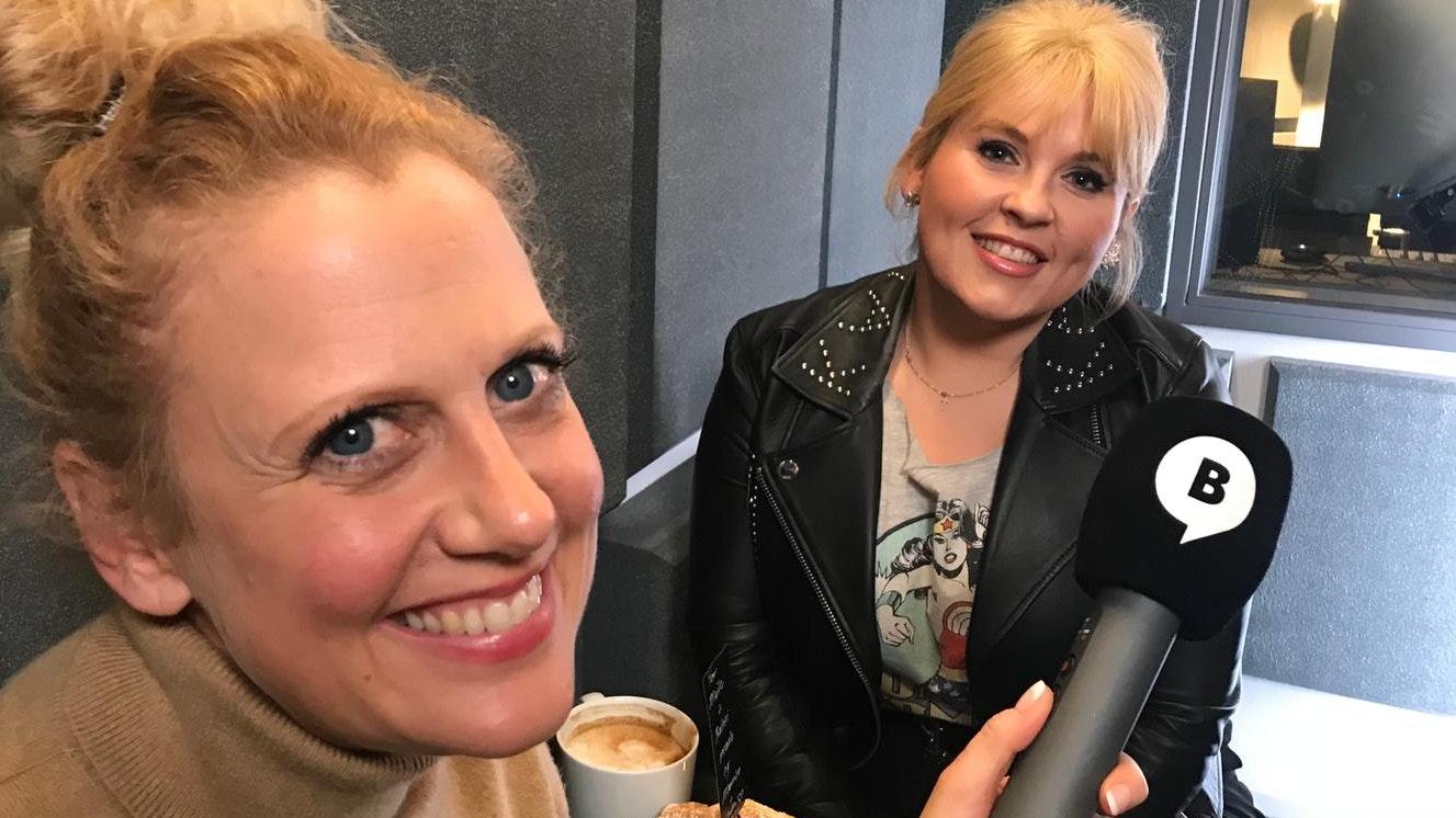 Barbara Schöneberger und Maite Kelly